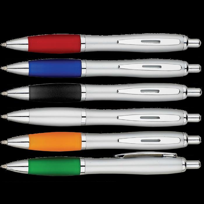 כלנית - עט כדורי עם שילובי מתכת