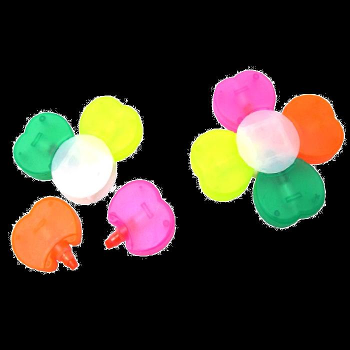 ונוס - סט 4 מדגשים שלא מתייבשים בצורת פרח
