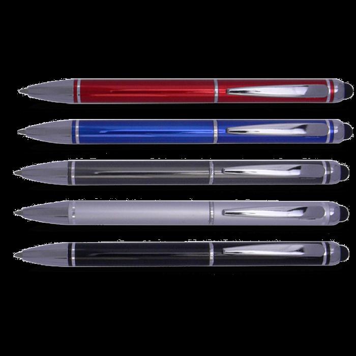 בריום - עט כדורי עם כרית TOUCH למסכי מגע